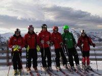 El equipo de esqui