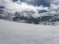 壮观的雪景