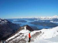 滑雪板,独特景观