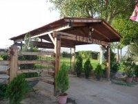 Acceso al campamento en Albacete