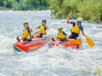 Rafting con el peque