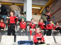 Gradas del campus de futbol en Las Tablas