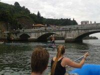 rafting y paddle surf en el rio deba
