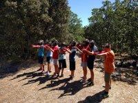 Paintball en el campamento en Albacete