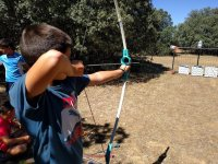 Archery to the target in Albacete