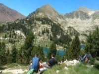 Vistas de los Pirineos en Aigues Tortes