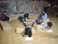 Taller de escritura campamento pirineo catalan