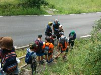 Acampada juvenil en el Pirineo