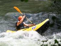 Rafting individual canoe