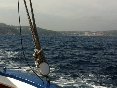Schooner rental in Palamós 4 hours