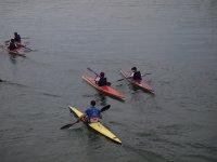 在穆尔西亚乘独木舟