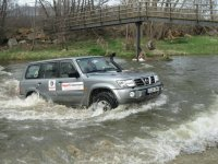 Crossing rivers with a 4x4