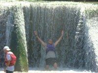 Le encanta el agua