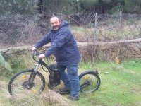 Bicicleta alquilada
