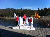 podium de ganadores