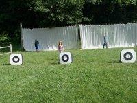 campo de tiro para niños