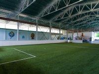 Bubble soccer field