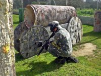 Paintball games in Conil