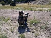 preparada para disparar