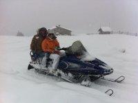 Tour invernale in motoslitta