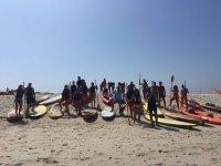 Kayak e percorso paddle
