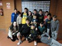 建立BasketBar马拉加Malaguenos年轻运动员