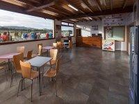 Cafetería para relajarse entre carrera y carrera
