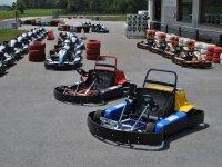 Karts biplaza para llevar a los mas pequeños