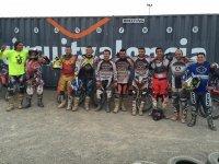 Equipo de participantes en el circuito