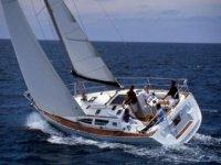 Navegando en un velero