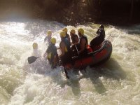 Rafting sul fiume Genil