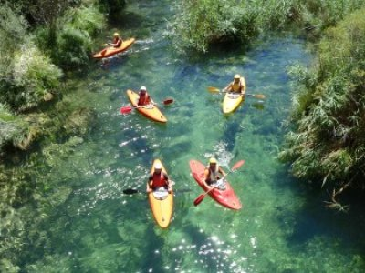 Open-kayak en el Alto Tajo, jornada completa