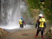 Descenso de barranco acuático, Serranía de Cuenca