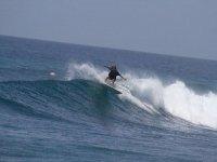 学生学习专业技术冲浪