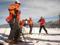 listos para esquiar