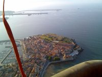 Gijon from the air