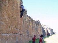 iniciandose en el mundo de la escalada