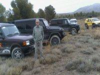 Con algunos de los vehiculos