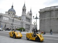 Passing through the cathedral of the almudena