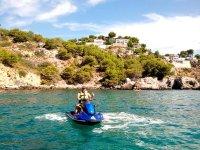 Paseo en moto de agua por Almuñécar