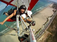 卡斯特利翁海岸的滑翔机