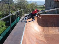 Skate in the surfhouse of Villaviciosa