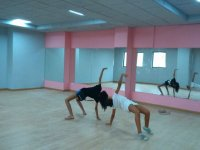 舞者在课堂