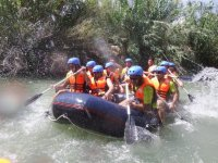 In waters of the Segura river