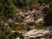 Rio entre las piedras