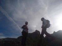 Pareja de escaladores