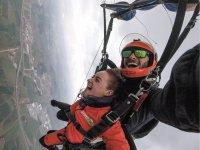 巴塞罗那的双人跳伞