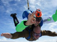 Tandem skydiving in the province of Barcelona