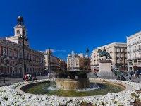 Puerta del Sol fountain