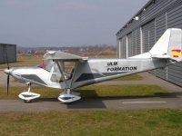Silver-colored Savannah aircraft model
